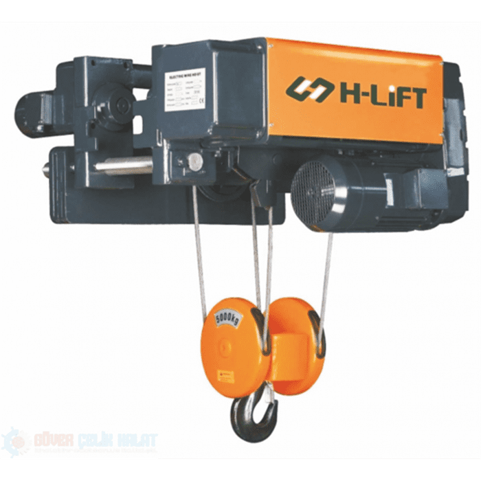 LOW HEADROOM ELECTRIC WIRE ROPE HOIST WHL-D TYPE